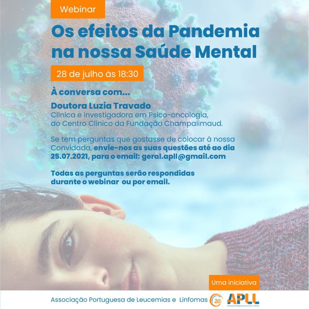Os efeitos da Pandemia na nossa Saúde Mental
